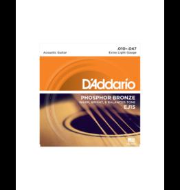D'addario EJ15 Acoustic guitar strings 010-047