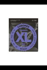 D'addario ECG24 Light chromes jazz guitar strings 011-050