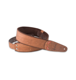 RightOn! Cork brown guitar strap