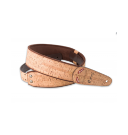 RightOn! Cork beige guitar strap
