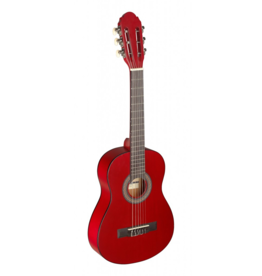 Stagg 1/4 classical guitar red