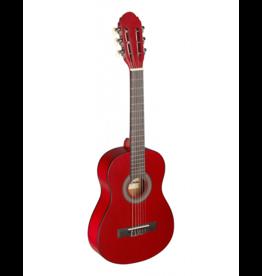 Stagg 1/4 klassiek gitaar rood