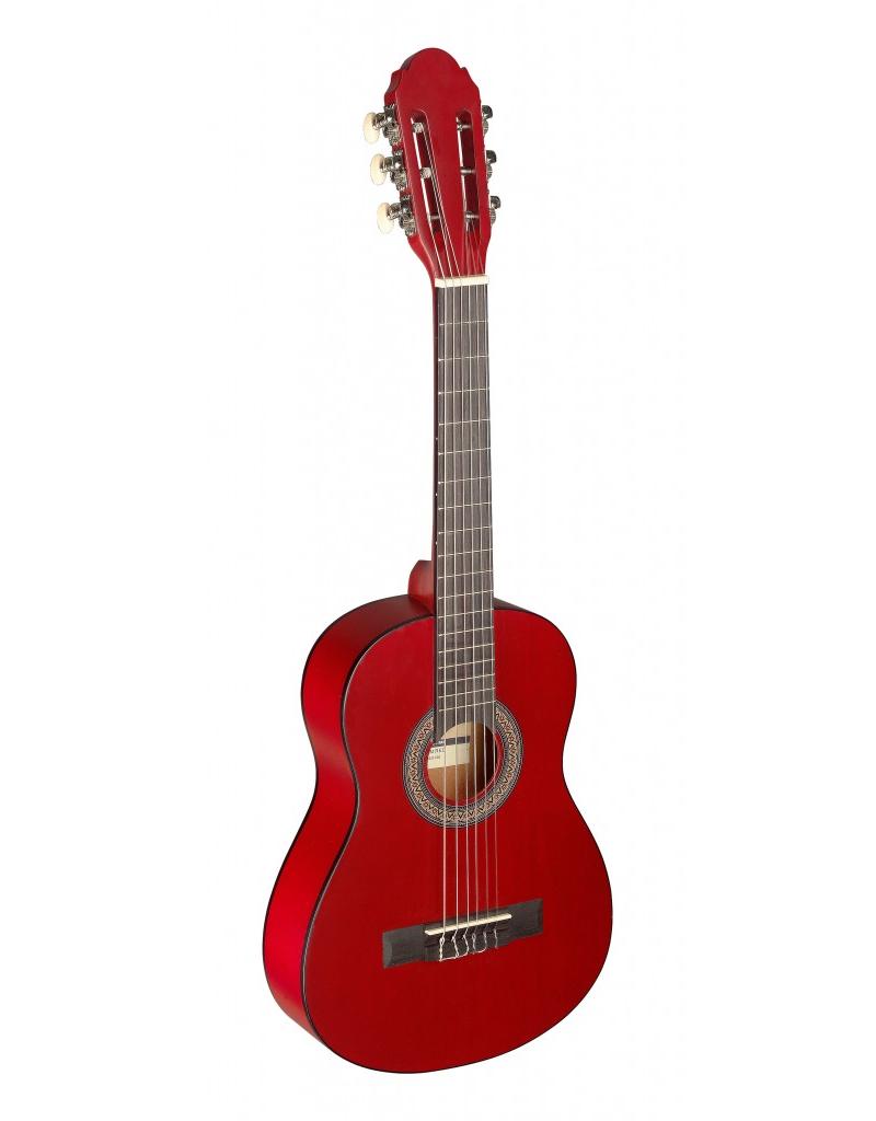Stagg C405RD 1/4 Klassiek gitaar rood