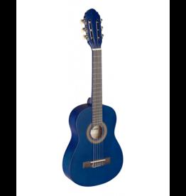Stagg 1/4 klassiek gitaar blauw