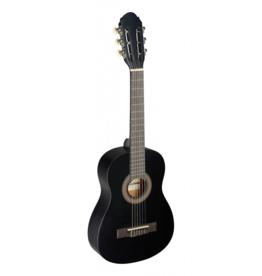 Stagg 1/4 classical guitar black