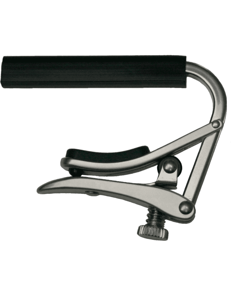 Shubb C2 Wide flat capo for classical guitar nickel