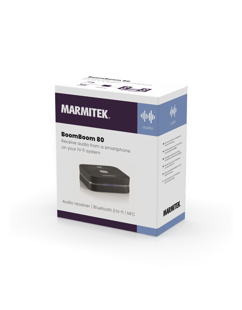 Marmitek BoomBoom 80 Bluetooth music receiver