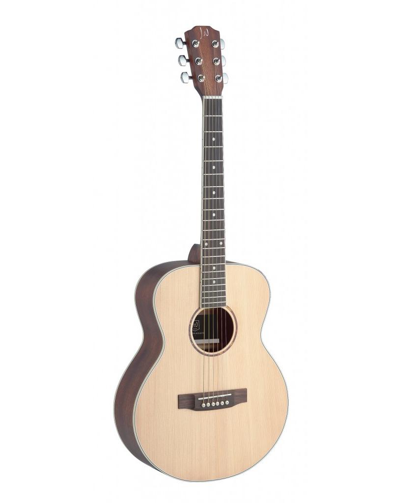 J.N. Guitars ASY-A Mini Akoestische reis gitaar