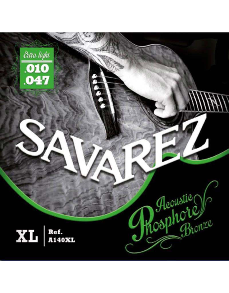 Savarez A140XL Extra light acoustic guitar strings 010-047
