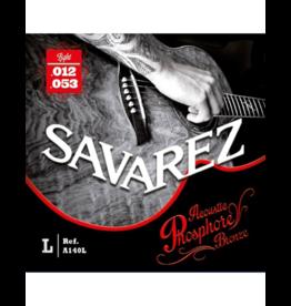 Savarez A140L acoustic guitar strings 012-053
