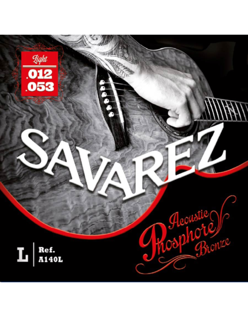 Savarez A140L Light akoestisch gitaar snaren 012-053