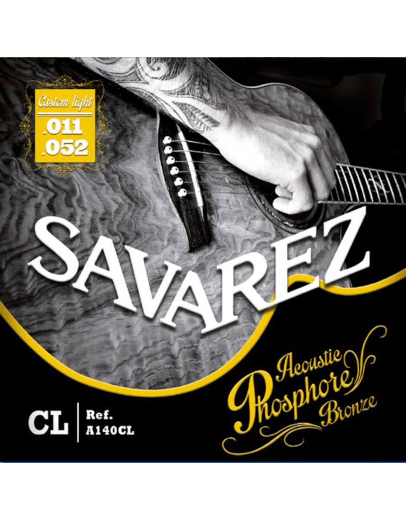 Savarez A140CL Customlight acoustic guitar strings 011-052