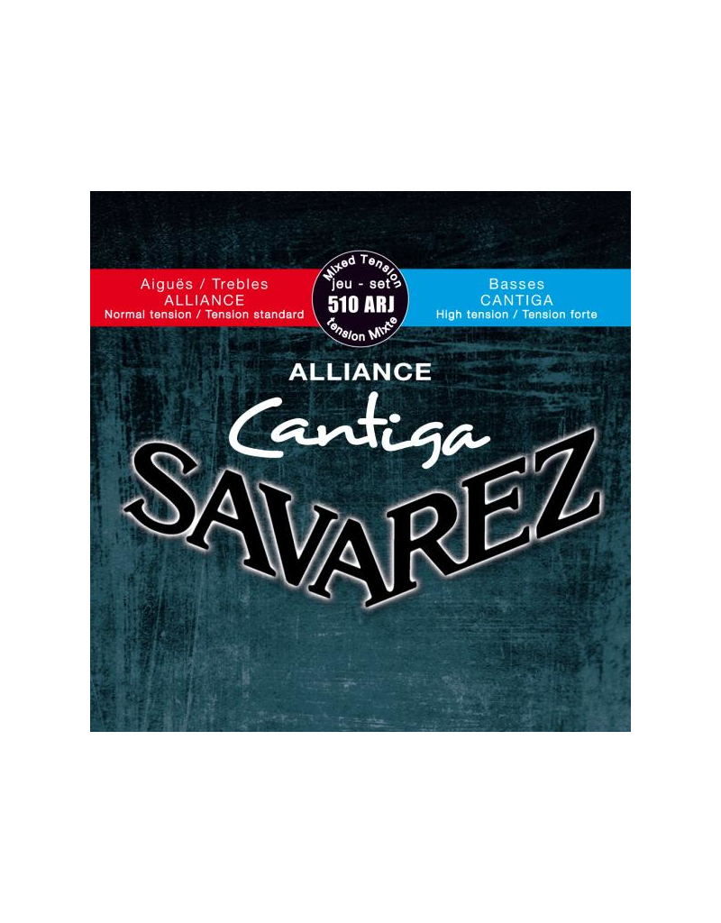Savarez 510ARJ Cantiga Classical guitar strings mixed tension