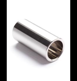 Dunlop 318 chromed steel slide medium short