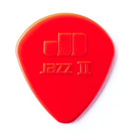 Dunlop Jazz II nylon guitar pick red
