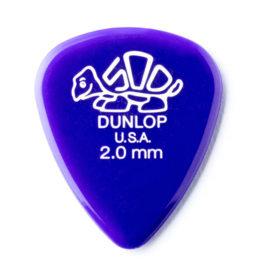 Dunlop Delrin 2.0 mm gitaar plectrum