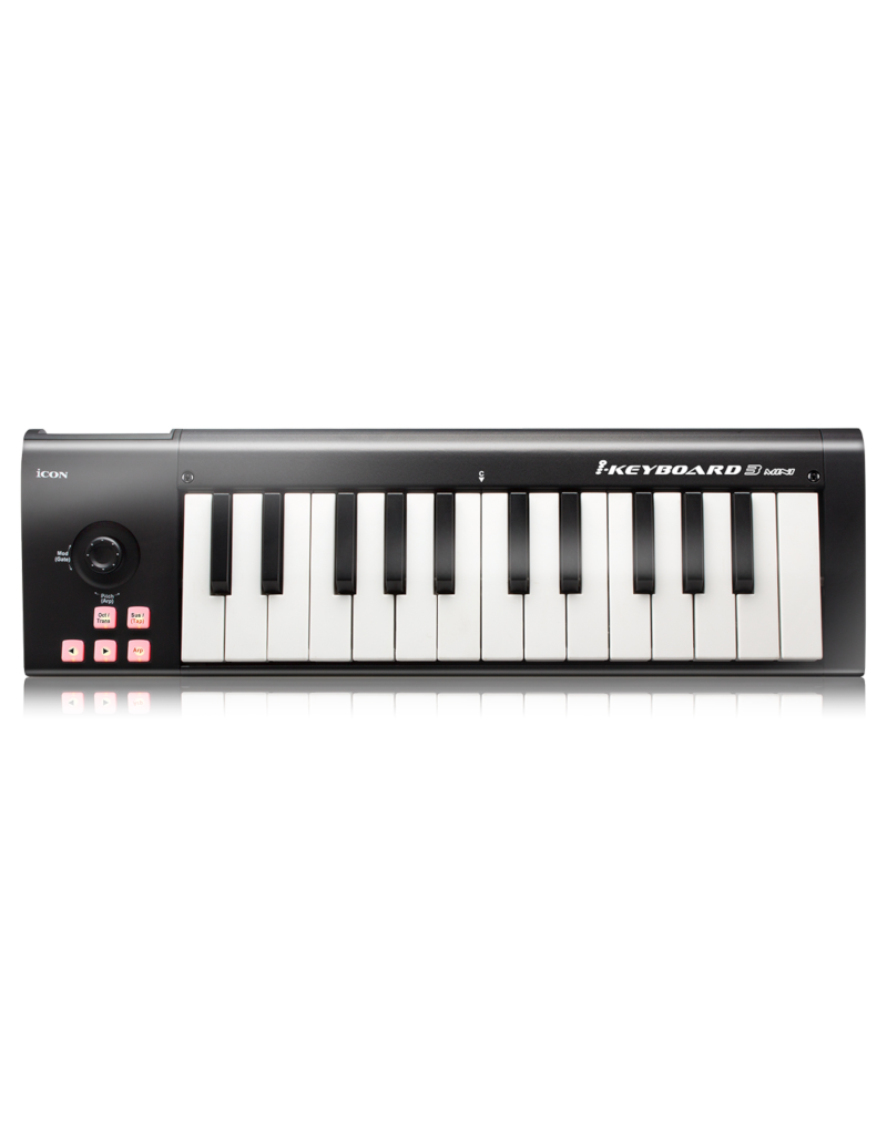 iCON iKeyboard 3 mini USB midi keyboard