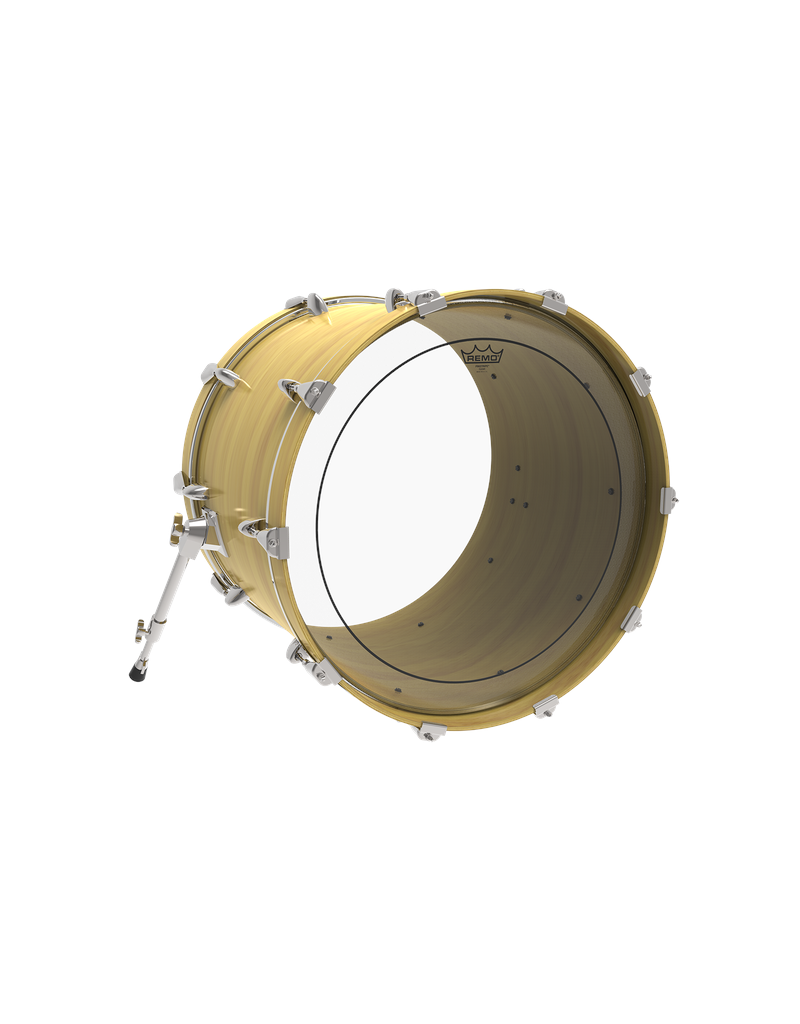 """Remo PS-0322-00 Pinstripe clear bass drumhead 22"""""""