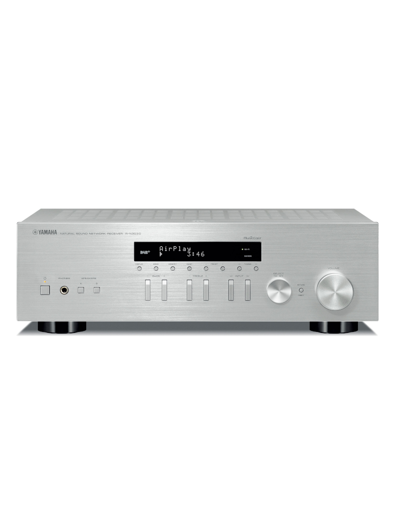 Yamaha R-N303D SL Stereo network receiver silver