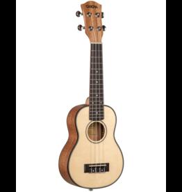 Cascha solid spruce soprano ukulele