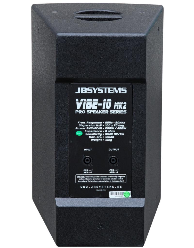 JB Systems Vibe10 Mk2 Luidspreker