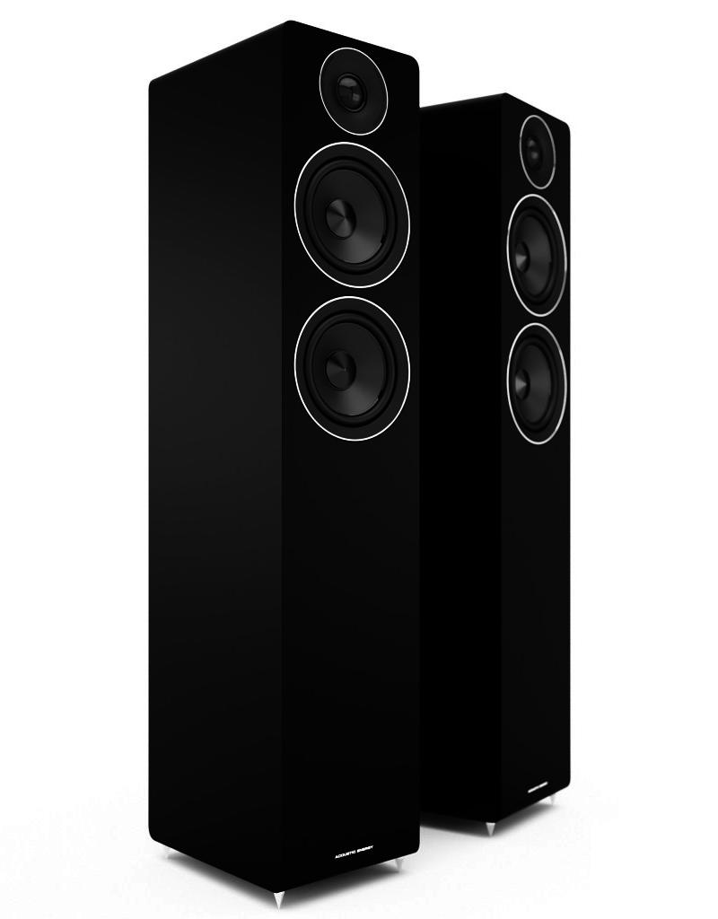 Acoustic Energy AE109 BK Floorstanding speaker black