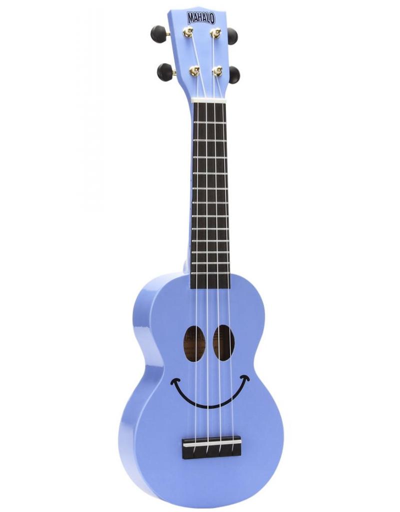 Mahalo U-Smile Soprano ukulele light blue
