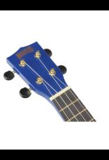 Mahalo MR1 BU soprano ukulele transparent blue