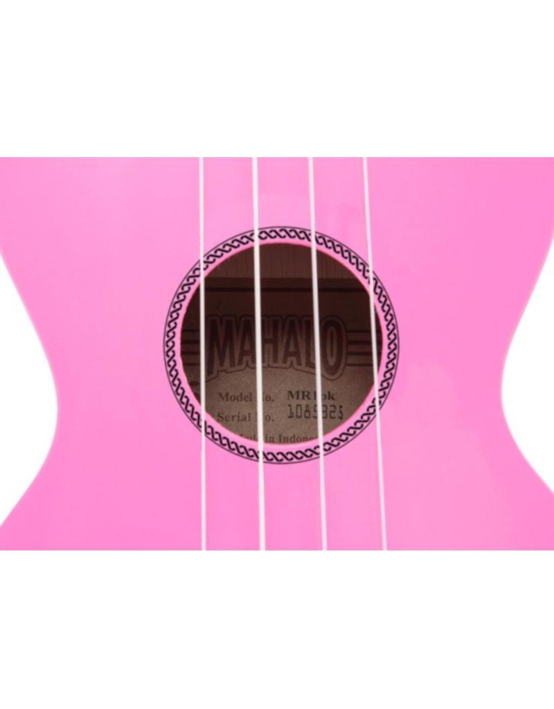 Mahalo  MR1 PK soprano ukulele pink