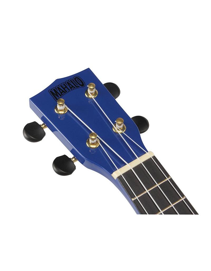 Mahalo U-Smile Soprano ukulele blue