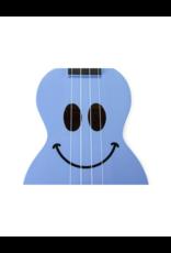 Mahalo U-Smile Sopraan ukelele licht blauw