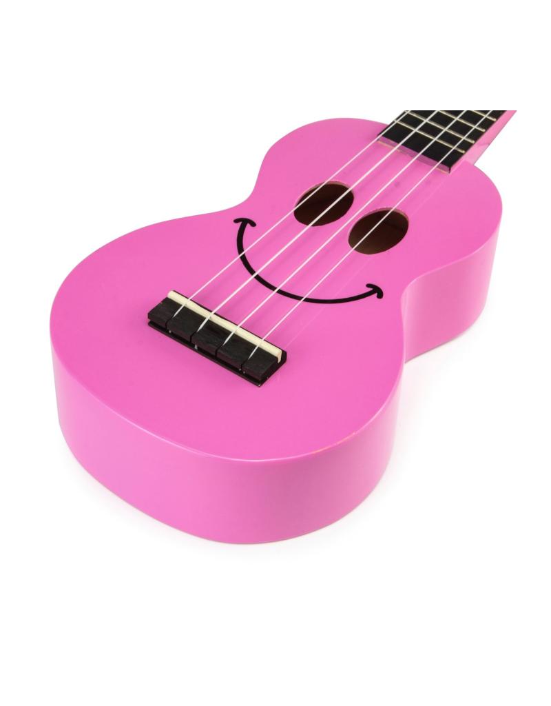 Mahalo U-Smile Sopraan ukelele roze