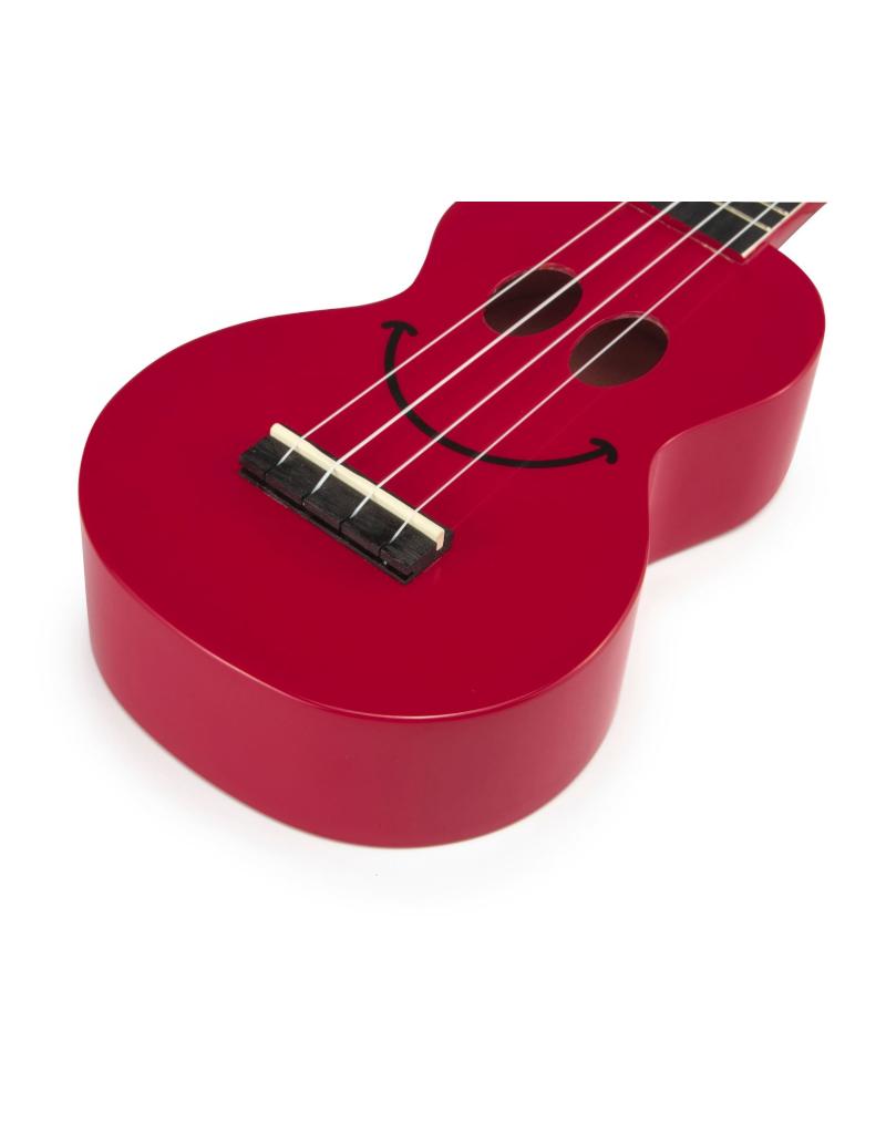 Mahalo U-Smile Soprano ukulele red