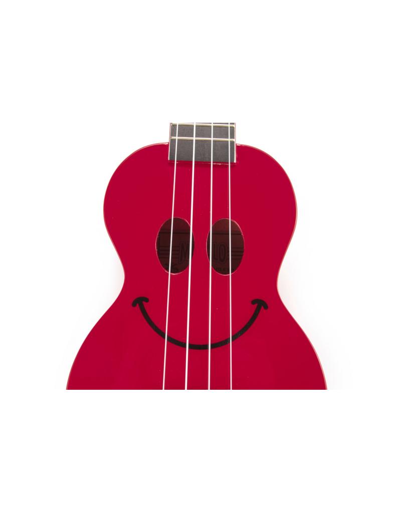 Mahalo U-Smile Sopraan ukelele rood