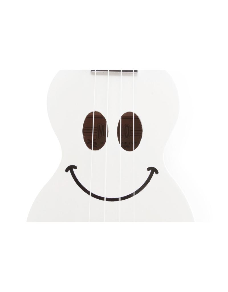 Mahalo U-Smile Soprano ukulele white