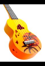 Mahalo MD1HAORB soprano ukulele Hawaii orange burst