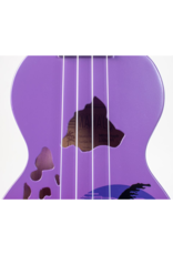 Mahalo MD1HAPPB soprano ukulele Hawaii purple burst