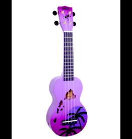 Mahalo MD1HAPPB soprano ukulele