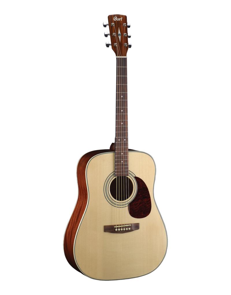 Cort EARTH70 NT Akoestische gitaar hoogglans top
