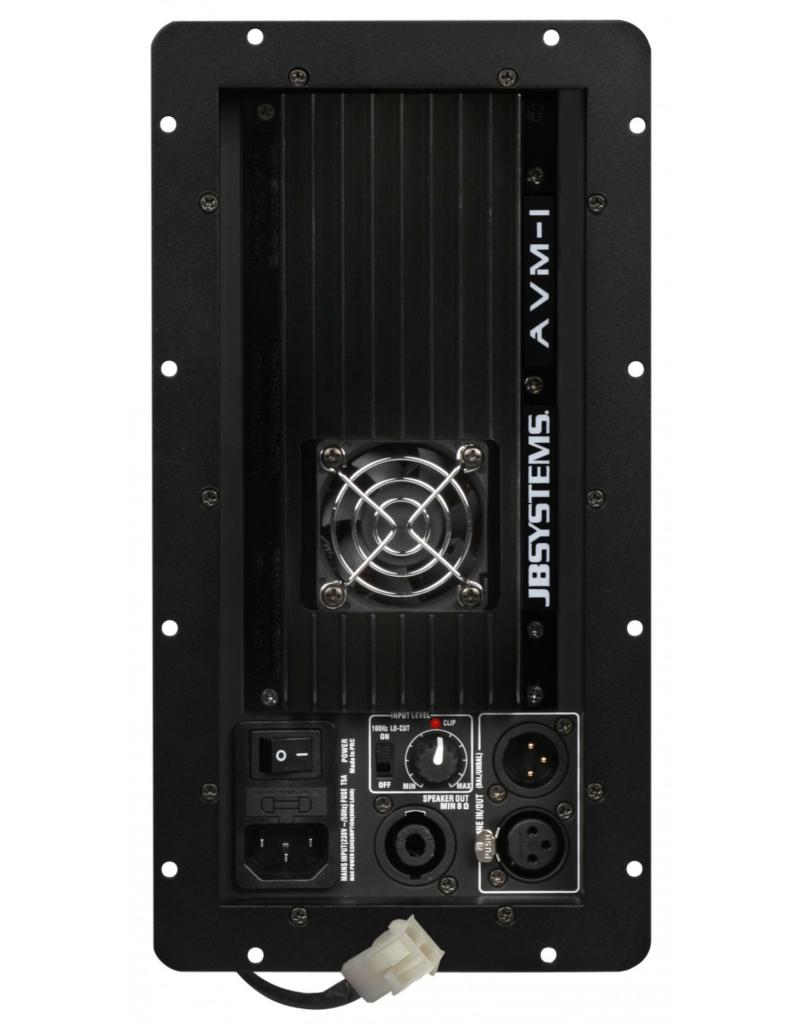 JB Systems AVM-1 Versterker module voor Vibe8 Mk2, Vibe10 Mk2 & Vibe12 Mk2
