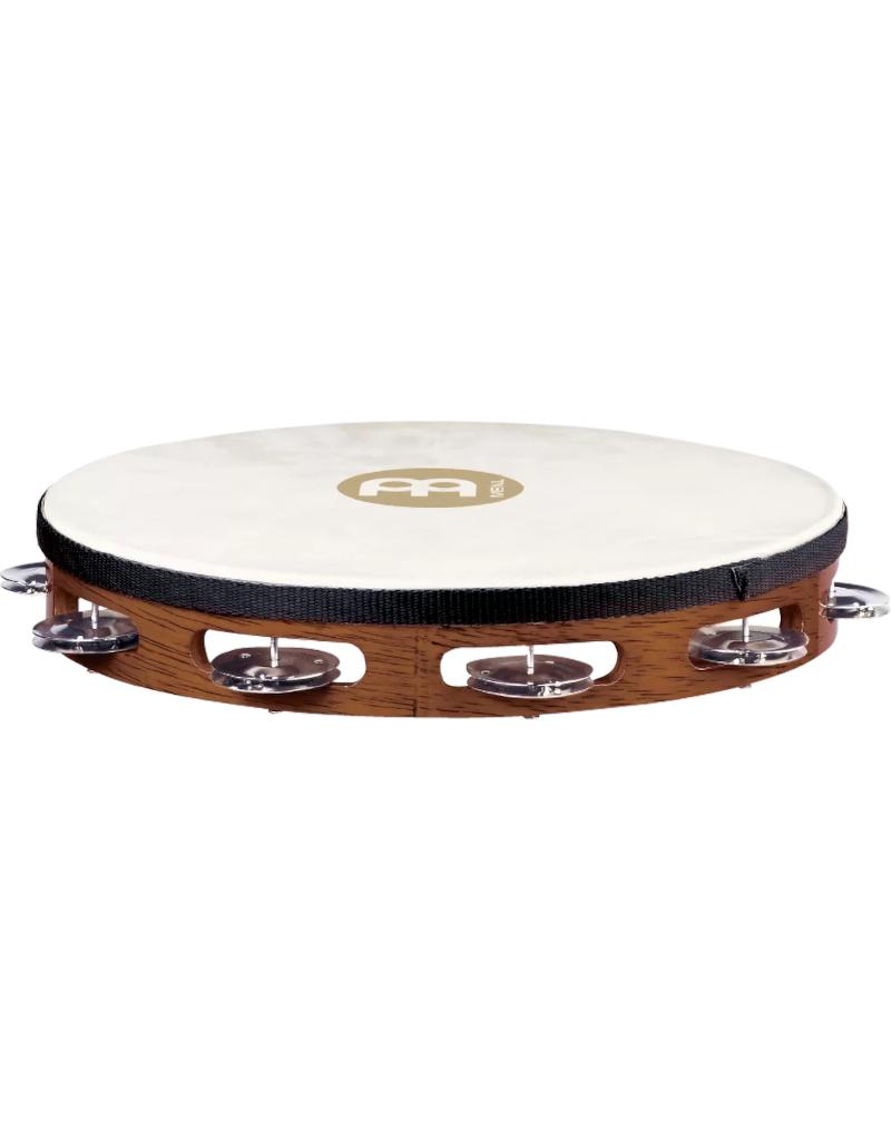 Meinl TAH1AB Goat skin headed tambourine with steel jingles