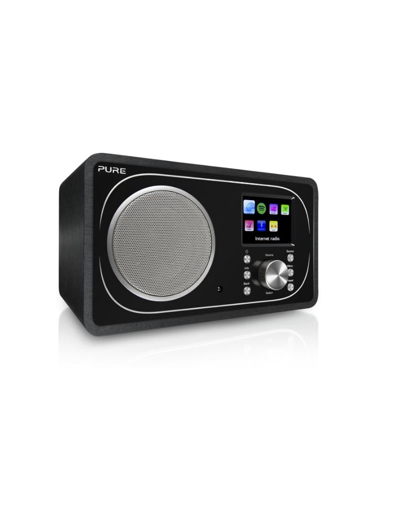 Pure Evoke F3 Dab/internetradio met spotify connect en bluetooth zwart