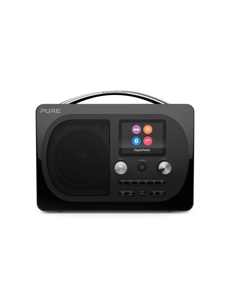 Pure Evoke H4 Prestige Dab/FM radio met bluetooth zwart