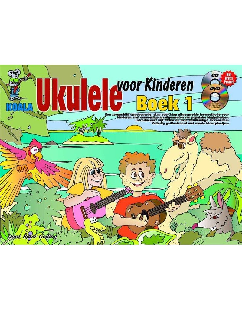 Koala Ukulele for Kids textbook