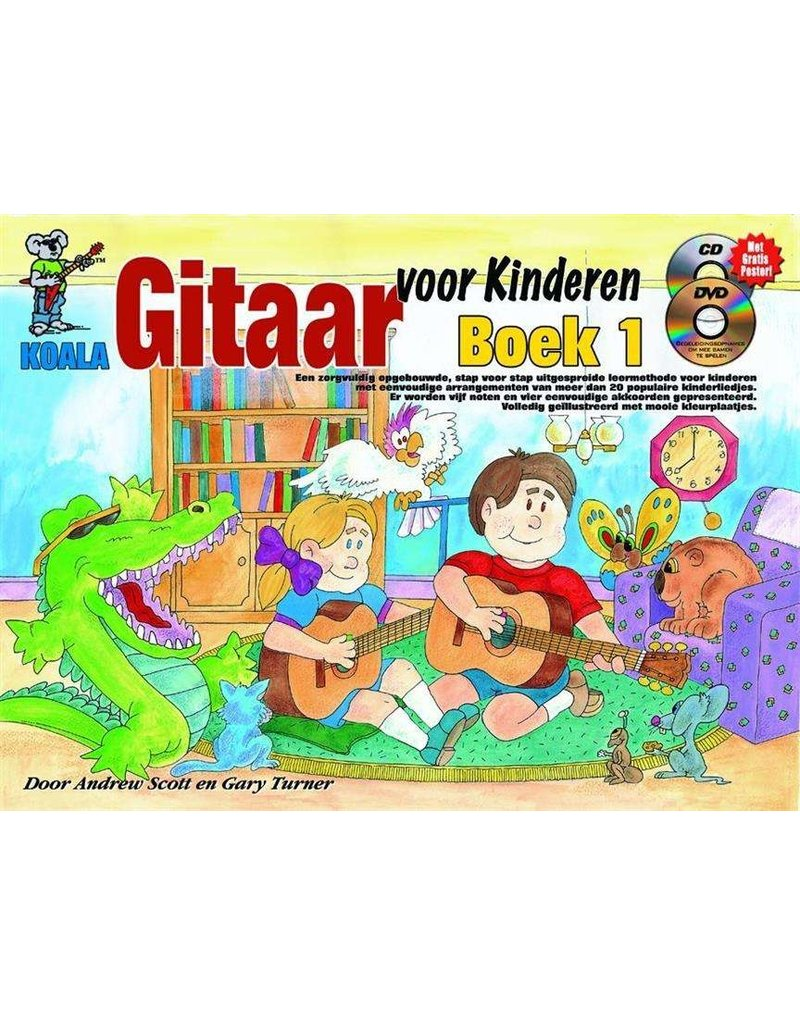 Koala Guitar for Kids textbook