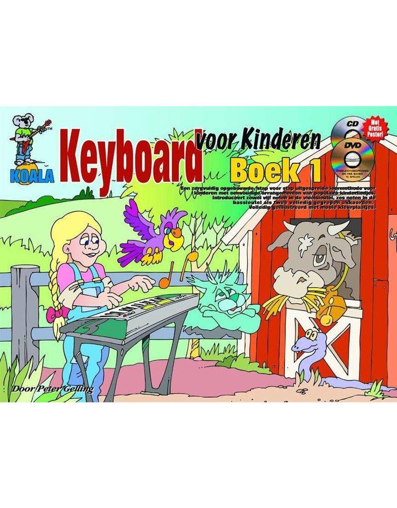 Koala Keyboard voor Kinderen lesbook