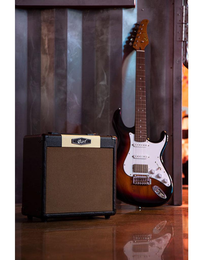 Cort CM15R BK Electric guitar amplifier black