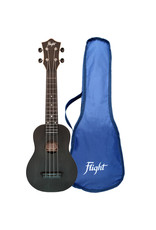 Flight TUS35 Travel black soprano ukulele