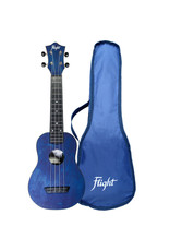 Flight TUS35 Travel dark blue soprano ukulele