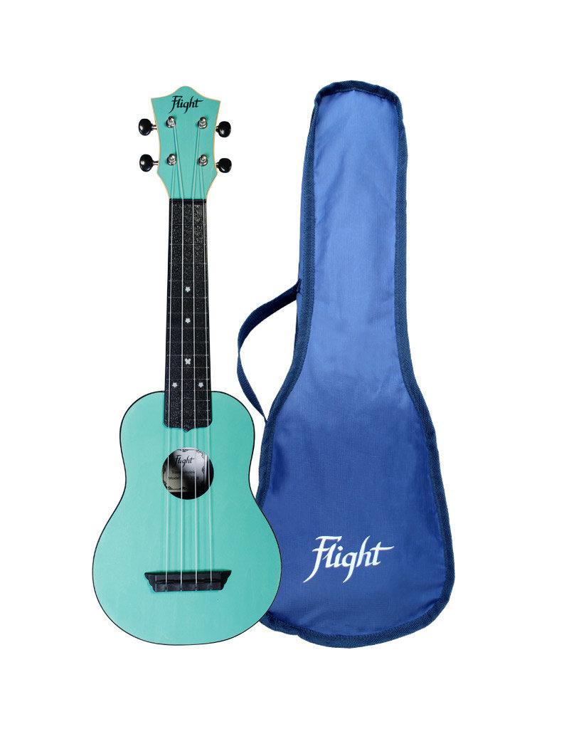 Flight TUS35 Travel light blue soprano ukulele